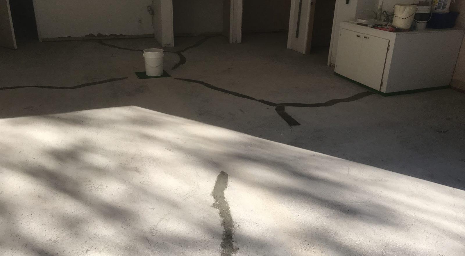 sol plancher garage